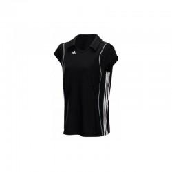 Abverkauf Adidas T8 Clima Polo Shirt Women Black White