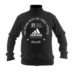 Adidas Boxing Community Jacket Black White