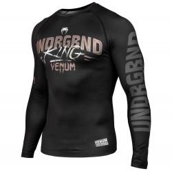 Abverkauf Venum Underground King Rashguard LS Black Sand