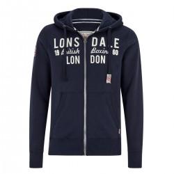 Lonsdale Croyde Herren Zip Sweater
