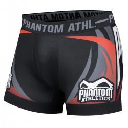 Phantom Storm Vulture Vale Tudo Shorts Black Red
