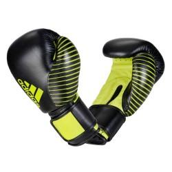 Adidas Kickboxing Wettkampfhandschuh Black Green adiKBWKF200