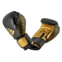 Adidas Kickboxing Wettkampfhandschuh Black Gold adiKBWKF200