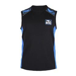 Bad Boy Force Jersey T-Shirt SL Black Blue