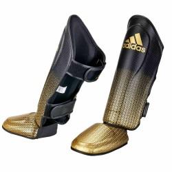 Adidas Pro Kickboxing Schienbein- Spannschutz Black Gold