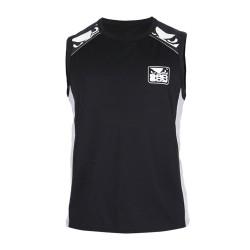 Bad Boy Force Jersey T-Shirt SL Black Grey