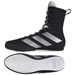 Adidas Box Hog 3 Boxstiefel Black Silver White FX0563