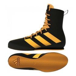 Adidas Box Hog 3 Boxstiefel Black Gold FZ5307