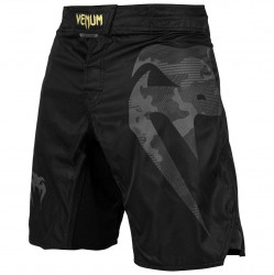 Venum Light 3.0 Fightshorts Black Camo