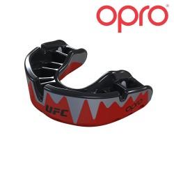 Opro Platinum Zahnschutz rotmetallic schwarz