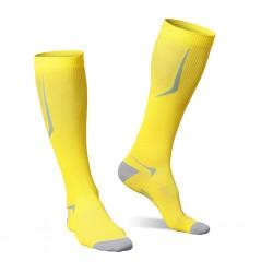 Strammer Max Men Kompression Socken Sports Line Gelb