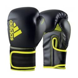 Adidas Boxhandschuh Hybrid 80 Black Yellow