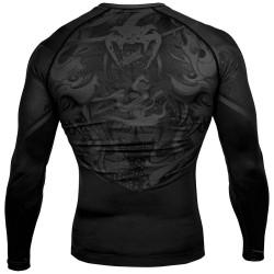 Venum Devil Rashguard LS Black Black
