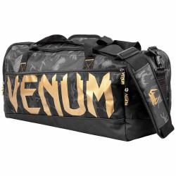 Venum Sparring Sportbag Dark Camo Gold