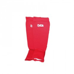 Dax Schienbein Spannschutz Elastic Rot