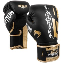 Venum Petrosyan Boxhandschuhe Schwarz Gold