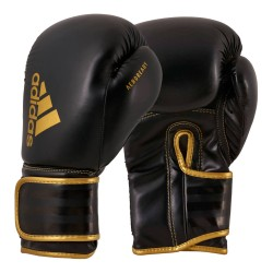 Adidas Hybrid 80 Boxhandschuhe Black Gold