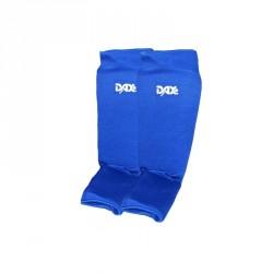 Dax Schienbein Spannschutz Elastic blau