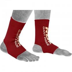 RDX Knöchelschutz rot