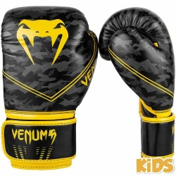 Venum Okinawa 2.0 Kids Boxing Gloves Black Yellow