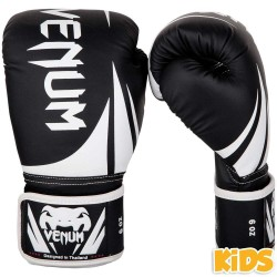 Venum Challenger 2.0 Kids Boxing Gloves Black White