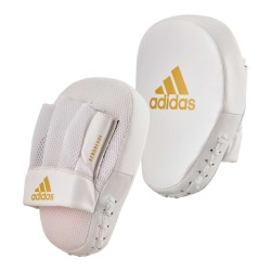 Adidas Speed Coach Mitts White Gold Paar