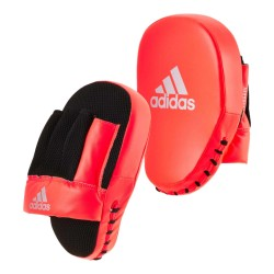 Adidas Speed Coach Mitts Red Silver Paar