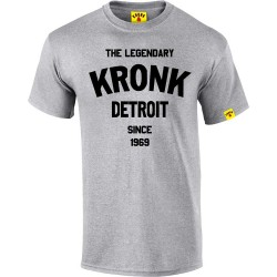Kronk The Legendary Detroit T-Shirt Sport Grey