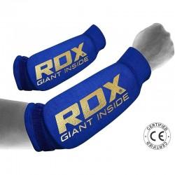RDX Unterarmschoner blau gold