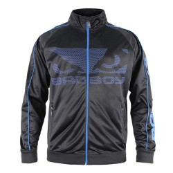 Bad Boy All Around Track Jacket Black Blue
