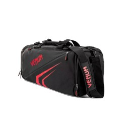 Venum Trainer Lite Evo Sports Bag Black Red