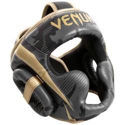 Venum Elite Kopfschutz Dark Camo Gold