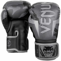 Venum Elite Boxhandschuhe Black Dark Camo