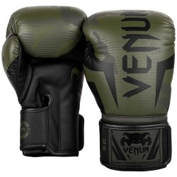 Venum Elite Boxhandschuhe Khaki Camo