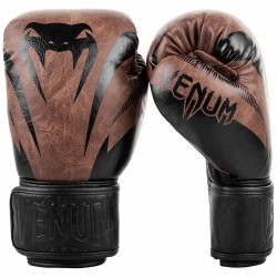 Venum Impact Boxhandschuhe Black Brown