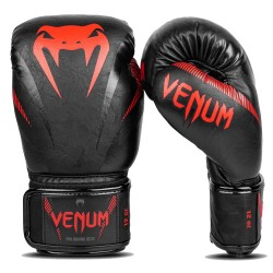 Venum Impact Boxhandschuhe Black Red
