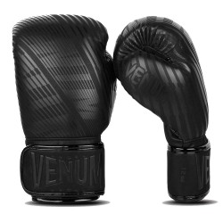 Venum Plasma Boxhandschuhe Black Black