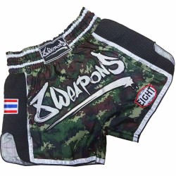 8Weapons Super Mesh Camo Muay Thai Short