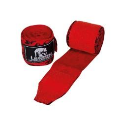 Legion Octagon Skull Boxbandagen 3.50m unelastisch rot