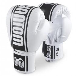 Phantom  Muay Thai Boxhandschuhe MT Pro PU Weiss