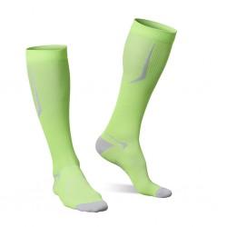 Strammer Max Men Kompression Socken Sports Line Neon-Grün