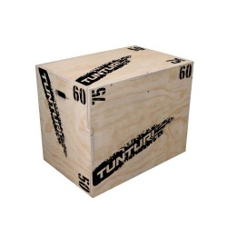 Tunturi Plyo Box Wood 40x50x60cm
