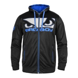 Abverkauf Bad Boy Dynamic Hoodie Black Blue