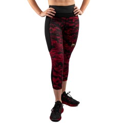 Venum Defender Crop Leggings schwarz rot