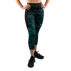 Venum Defender Crop Leggings schwarz grün