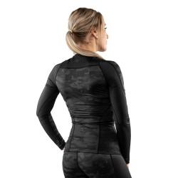 Venum Defender Women Rashguard LS schwarz schwarz