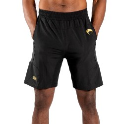 Venum G-Fit Training Short schwarz gold