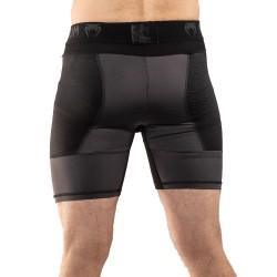 Venum G-Fit Kompression Short grau schwarz