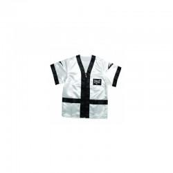 Everlast Satin Corner Jacket White Black 4390