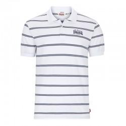 Lonsdale Diss Herren Poloshirt White Navy